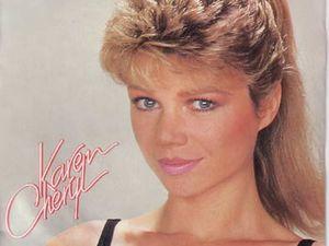 karen cheryl, une chanteuse des années 70, plus connue désormais comme animatrice sous le nom d'isabelle morizet