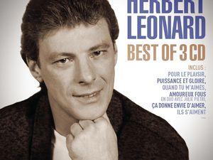 herbert leonard, un chanteur de variété française qui a traversé les décennies, spécialiste d'aéronautique et passionné de ballon rond