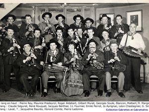 marcel marginier, un passionné de la cabrette et de l'accordéon qui succède à georges soule à la tête de l'association cabrettes  et cabrettaïres