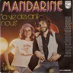 mandarine, un groupe français qui était un trio devient un duo et bénéficie de textes d'yves simon