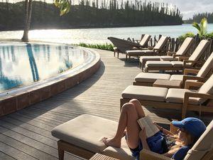 La piscine naturelle de la baie d'Oro ~ Ile des pins ~ Nouvelle Calédonie