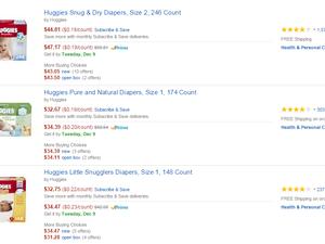 Les prix.. difficiles de comparer, c'est ce que cherche aussi Amazon.