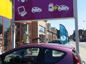 Carrefour Drive Belgique un superbe concept de proximité abouti.