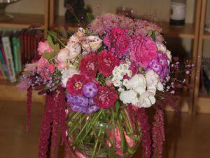 Bouquet Volcan de velours