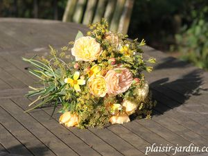 Bouquet l'or des moissons