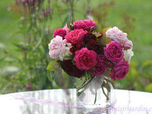 Bouquet ronde de roses