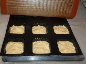 Saumon  au beurre de gingembre, flan de céleri et fondue de poireaux
