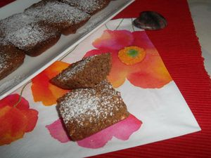 Financier à la noisette