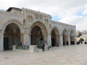 La mosquée Al Aqsa et le dôme du Rocher