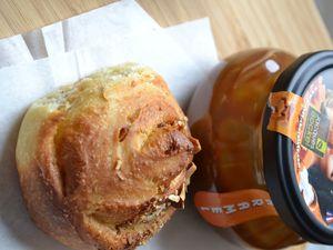 Escargots à l'amande et au caramel