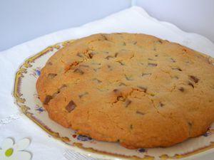 Cookie géant aux chuncks chocolat au lait et marshmallow
