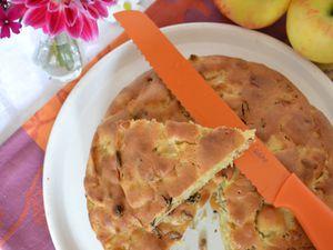 Torta di mele, noci e uvetta #passe plat entre amis 4