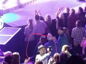 Photos: Justin Timberlake s'éclate au concert de Garth Brooks