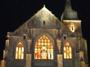 Ce soir là du 6 février 2017, les clochers des deux Églises d'Olonne et du Château ont sonné à l'unisson... Il est vrai qu'elles se souvenaient qu'elles avaient déjà depuis lontemps sonné la fusion des paroisses au Pays des Olonnes