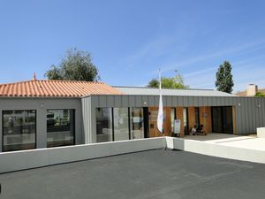 Un nouvel office de tourisme à Château d'Olonne en travaux, version 2012 fin des travaux