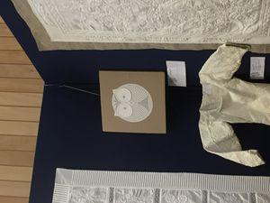 Boutis, sashiko, laine et jupe en kit
