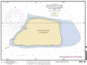 Maps of Jarvis island - a clic to enlarge.