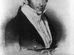 """Portrait de Sir Thomas Stamford et couverture de son livre """"The history of Java"""" - un clic pour ouvrir"""