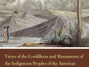 "Books on the subject: ""Views of the Cordilleras and Monuments of the Indigenous Peoples of the Americas"" - ""Volcanoes and Caverns"" / Ed Nelson and sons - One click to enlarge."