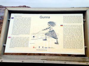 """Gunnnuhver - Panneau explicatif de la légende de """"Gunna"""" - un clic pour agrandir ."""