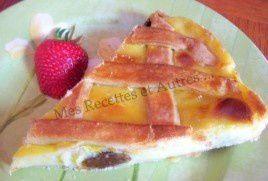 La Tarte à Gros Bord de Mamie Bus (tarte libouli, crème)