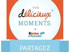 Concours photo/vidéo Kinder Chocolat du 7 au 28 mars 2014