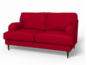 S lection canap cuir ou tissu d co vintage club anglais fashion maman - Canape convertible rouge ikea ...