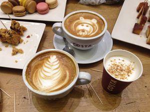 Costa coffee shop Lille