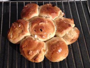 1 seule recette de pain différentes cuisssons : brioche, pain au lait, baguette, pain toast #Thermomix
