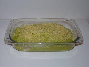 Lasagnes de ravioles aux courgettes ou carottes à la La vache qui rit®