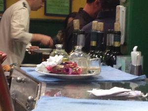 """Vinaigrette digestive"" et tapas Matadero Madrid"
