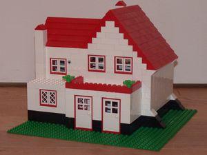 Ma maison LEGO avant les travaux