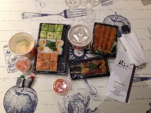 J'ai testé Deliveroo livraison en vélo restaurant japonais, indien... à Lille, Marcq en Baroeul, La Madeleine, Paris...