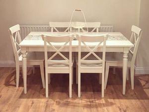 Ma sélection table à dîner en bois rectangulaire, personnaliser une table IKEA changer les pieds