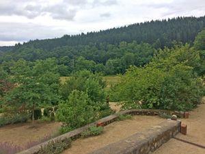 Parc d'un Château auvergnat