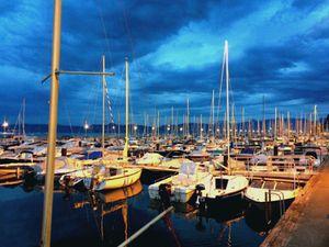 Ports de Thonon et d'Evian.