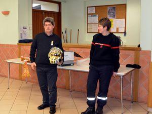 Sapeurs-pompiers : fin de carrière pour Michel Gandet