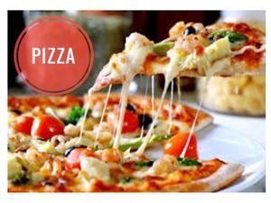 pizza oignon tomate-mozzarella