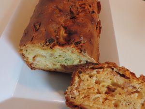 Cake brocoli jambon