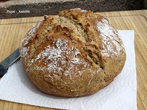 Soda bread Irlandais au lait ribot.