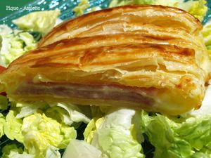 Tresse jambon / fromage