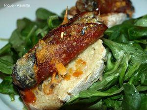Saltimbocca à la sardine en boite.