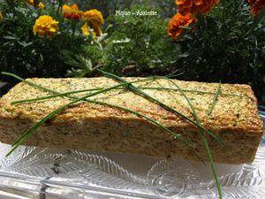 Terrine de courgettes au quinoa. (Recettes au Companion ou pas ...)