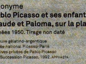 Pablo Picasso, un peu de noir et blanc en son musée à Paris