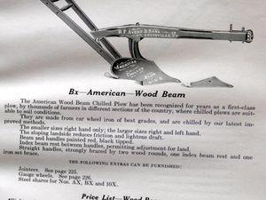 Catalogue de matériel agricole B.F. Avery § Sons -1914-
