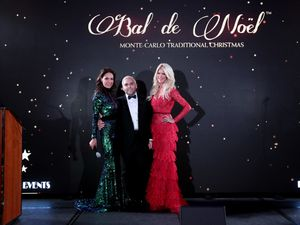 """BAL DE NOËL"" HIGHLIGHTED H.S.H. THE PRINCESS CHARLENE OF MONACO."