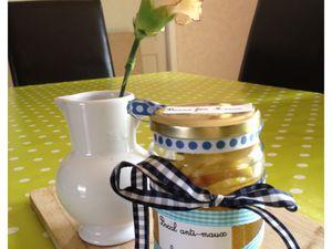DIY - Un bocal contre les maux hivernaux (citron/miel/gingembre/thé) --&gt&#x3B; Idée cadeau!