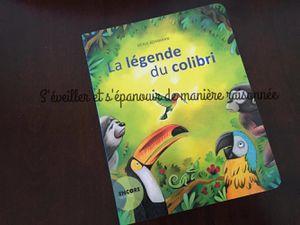 Parlons écologie avec les enfants : La légende du colibri de Denis Kormann
