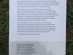 Les lois naturelles de l'enfant de Céline Alvarez (Les Arènes), le coup de coeur !