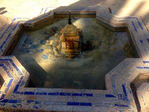 Fontaines d'inspiration islamique et renaissance